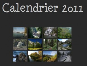 Calendrier 2011 Paysage