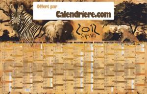 Calendrier-2012-Safari-Calendriere