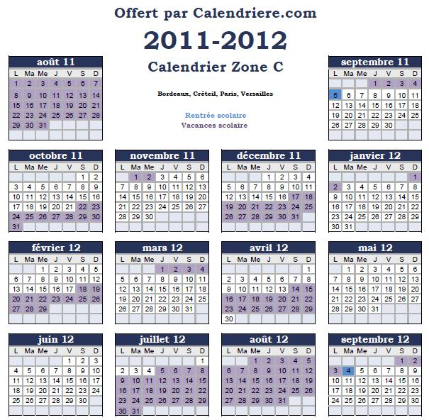 calendrier scolaire angleterre