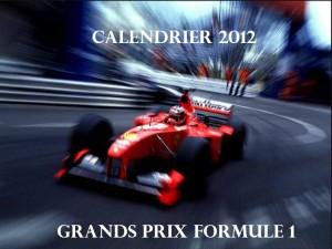 Dates des grands prix de Formule 1