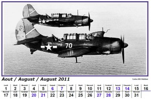 calendrier 2011 avion gratuit