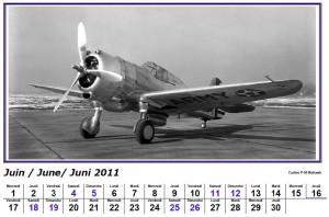 calendrier 2011 avion planeur