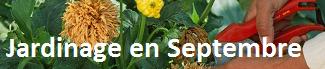Calendrier Jardinage Septembre